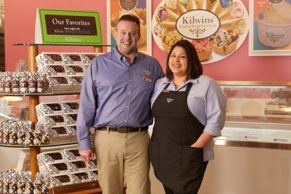 Franchisees Joe and Diane