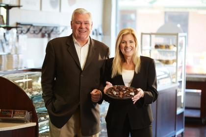 Franchisees Bill and Maribeth