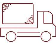 Kilwins delivery truck icon